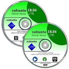 Linux xubuntu 18.04 LTS   ✔ 2 DVD`s  32 + 64 bit   ✔Version 2018  ✔skm Qualität