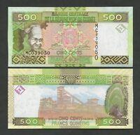 GUINEA  500 francs  2012  P39b  Uncirculated  Banknotes