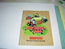 2005 Befco Farm Tractor Implements Amp Accessories General Product Catalog