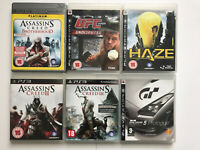 JOB LOT BUNDLE OF VARIOUS PS3 Games PlayStation 3 x 6 Games (102)