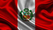 Bandiera Perù - National Flag of Perù