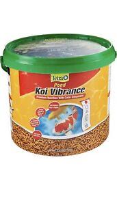 Tetra Pond Koi Vibrance Color Enhancing Sticks Koi & Goldfish Food, 3.08lbs