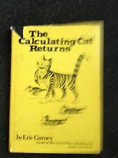 The Calculating Cat Returns HBDJ By Eric Gurney Nancy Prevo 1978 Free Shipping
