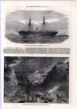 1872 Bursting Canal Bank Edgbaston Birmingham Steamer Tripoli Wexford