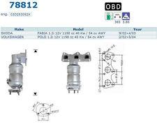 Pot catalytique Skoda Fabia 1.2i 12V 1198cc 40Kw/54cv AWY 9/02>4/03, Magnaflow