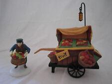 Department Dept 56 Heritage Village Collection Chelsea Market Flower Monger Cart