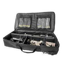 AR 15 Discreet Carbine Rifle Case M4 AK Takedown SBR Compact Range Bag VISM Blk.