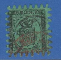 FINLAND 7 8 PEN 1866 Rare Cancel !