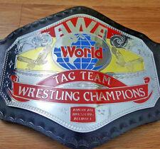 AWA Tag Team Wrestling Championship Belt Replica