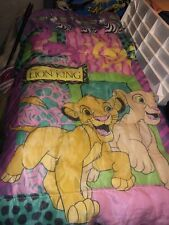 Vintage The Lion King Sleeping Bag Simba And Nola  Color