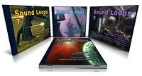 Cinematic Bundle: Sound Loops 7+8+9+10 WAV Samples Ableton Cubase FL Studio Acid