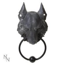 Gothic Medieval Fantasy Wild Wolf Door Knocker Decoration Article 21cm Gift