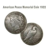 1921 1922  1927 Statue of Liberty Peace Coin Silver Dollar Eagle Collection 38MM