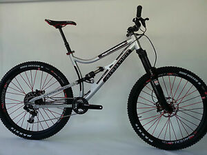 USA Handbuilt 27.5 Full Susp. Mountain Bike
