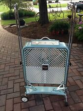 """VTG Country Aire 20"""" Box Tilting Fan Model#PTRC-20 W/ Slim-Line Roll About Stand"""