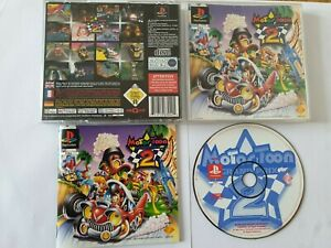 Motor Toon Grand Prix 2 Sony PlayStation 1 PS1 Game Complete FREE UK POSTAGE