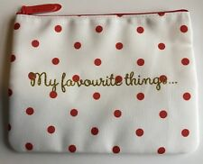 """M&S Marks & Spencer """"My favourite things"""" Make-Up Cosmetics Toiletry Purse Bag"""