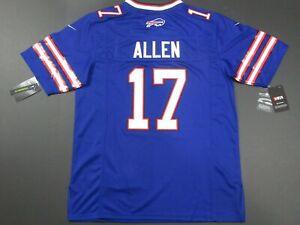 Josh Allen #17 Buffalo Bills On-field Game Men's Jersey Blue