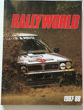 Rallyworld 1987-88 3rd Rallyworld Annual - paperback.