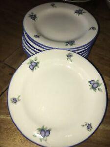 Royal Doulton Everyday Blueberry Desert Plates16cm X8
