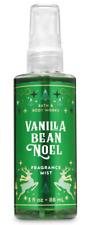 Bath & Body Works Vanilla Bean Noel Travel Size Fine Fragrance Mist FREE SHIPPIN