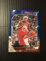 2019-20 Panini NBA Hoops Premium Pascal Siakam Blue Cracked Ice Prizm #182 Sharp