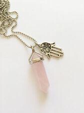 Pink Rose Quartz Fashion Jewellery