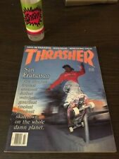Thrasher Skateboard Magazine July 1989 Tommy Guerrero Mark Partain! 7/89 Jul