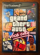 Grand Theft Auto: Vice City - PlayStation 2; Brand New & Factory Sealed!