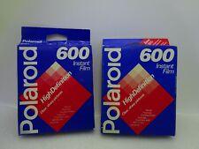 NIB Vintage Polaroid 600 Instant Film High Definition Sealed 2 Packets x 10