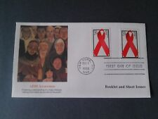 Fleetwood  Scott 2806  (29c) Aids Awareness Booklet and Sheet  1st Day Cover
