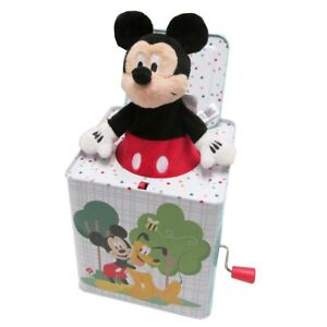 """Kids Preferred Mickey Mouse Jack-in-the-Box - Plays """"Mickey Mouse March"""""""