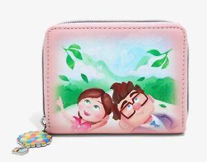 new Loungefly Disney Pixar Up Carl & Ellie mini zip wallet