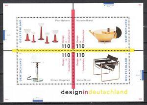 BRD 1998 Mi. Nr. 2001-2004 in Block Nr. 45 Postfrisch LUXUS!!!