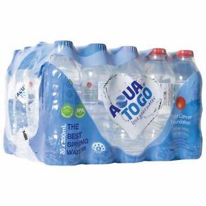 Aqua to Go Premium Spring Water 500mL 20 Pack