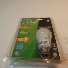 Lot of 2 Energy saver 40 W appliance/ fridge fan garage door light bulb A-19