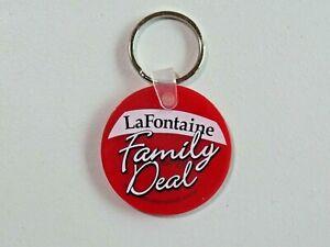 LaFontaine The Family Deal Keychain Car Dealer Advertisement MI KIA GMC etc.
