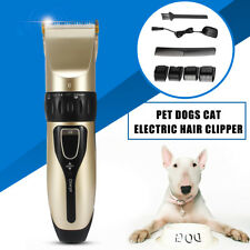 Pet Cat Dog Hair Trimmer Electrical Clipper Animal Haircut Shaver Razor Grooming