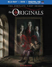 The Originals: The Complete First Season (Blu-ray/DVD, 2014, 9-Disc Set, Includ…