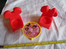 Fisher Price Little People Mickey & Minnie Mouse House Disney Table Chair Set