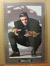 Vintage 1990 Vanilla Ice rapper music artist Poster original 5428