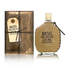 FUEL FOR LIFE BY DIESEL 4.2 O.Z EDT SPRAY *MEN'S PERFUME* NEW SEALED COLOGNE