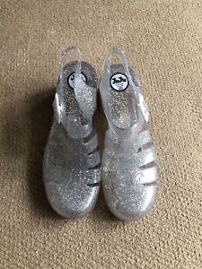 Original Juju Jelly Shoes Heeled  Size 5
