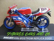 MOTO 1/24 COLLECTION DUCATI  998s BEN BOSTROM REPLICA MOTORCYCLE