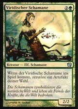 Viridischer chamán foil/Viridian Shaman | nm | 9th Edition | ger | Magic mtg