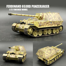WWII Ferdinand 653rd Panzerjager Abt,Kursk,1943 1/72 tank easy model finished