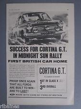 R&L Ex-Mag Advert: Cortina G.T in Midnight Sun Rally/Capri Roof Racks