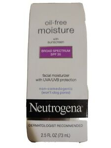 Neutrogena Oil Free Facial Moisturizer Sunscreen - SPF 35 - 2.5oz Exp.11/2014