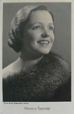 Maria von Tasnady (1911-2001) Schauspielerin - original-signiertes Foto