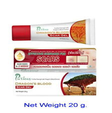 20 G Puricas Dragon's Blood Scar Care Gel Treat Keloid, Hypertrophic, Acne Scars